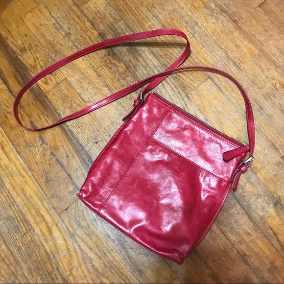 HOBO Handbags - Red Hobo crossbody purse